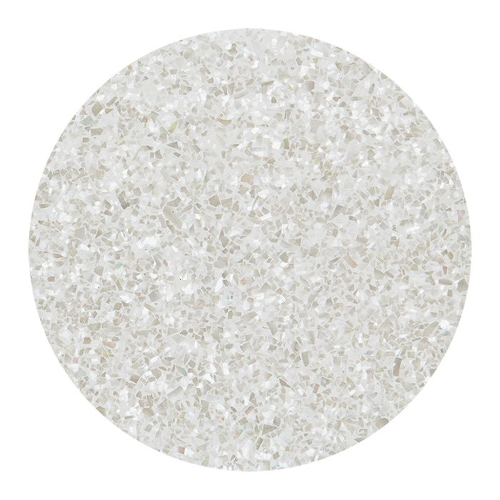 White Mother of Pearl Natural Galaxy Light Shell Veneer