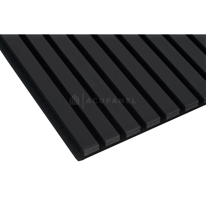 Acupanel Contemporary Black Acoustic Wall Panels