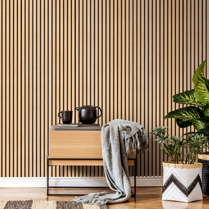 Acupanel® Contemporary Oak Acoustic Wood Wall Panels