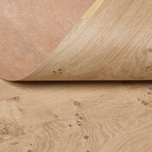 Pippy Oak Crown Paper Backed Flexible Wood Veneer