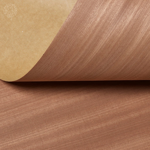 Mahogany Sapele Crown Cut Decoflex Flexible Wood Veneer
