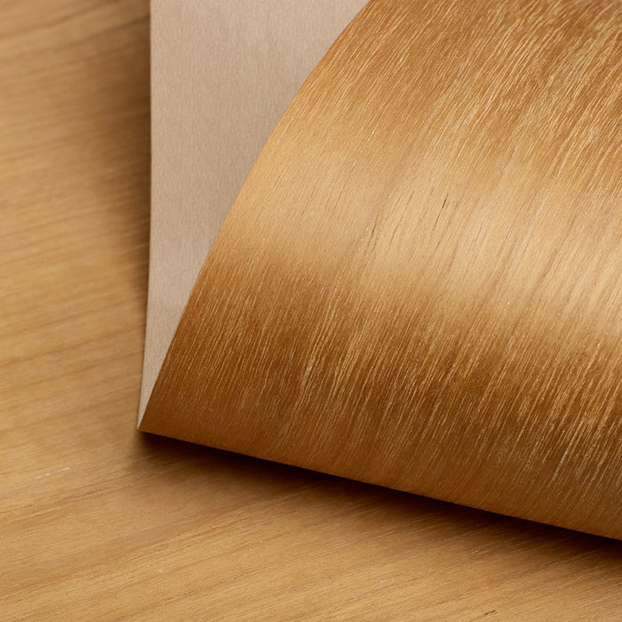 Teak Fleece Backed Wood Veneer