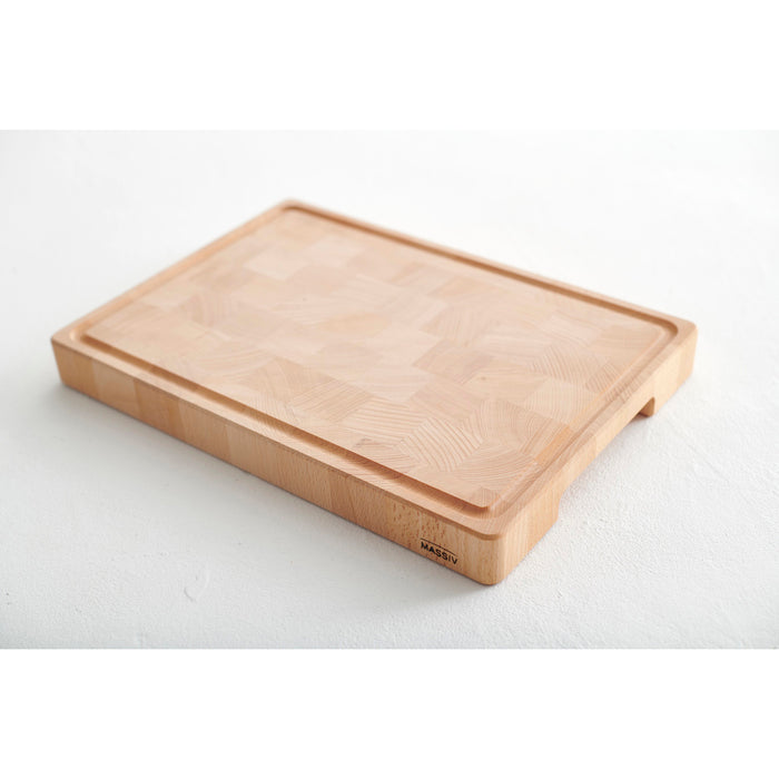 Solid Wood Butchers Chopping Board