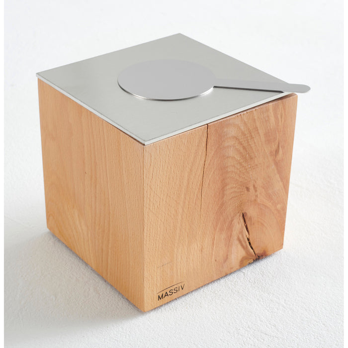 Solid Wood Cube Burner