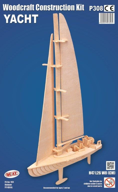 Yacht Woodcraft Construction Kit
