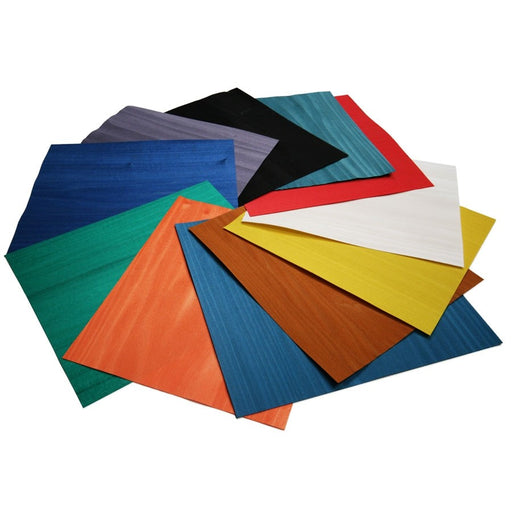 Coloured Wood Veneer Pack