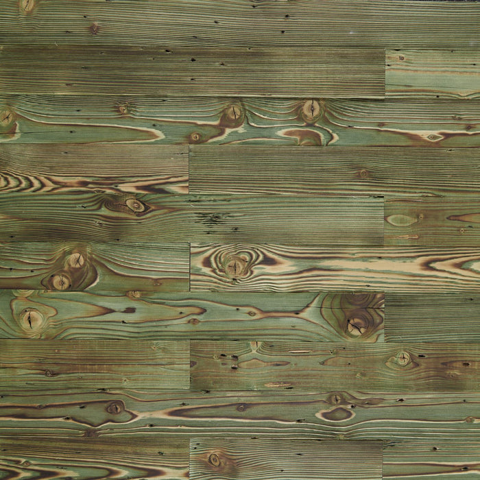 Peridot Reclaimed Wood Wall