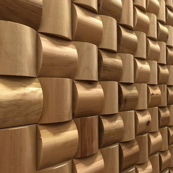 daim Curved 3D Wood Wall