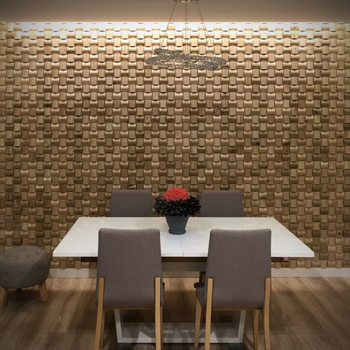 Curved 3D Wood Wall Panels