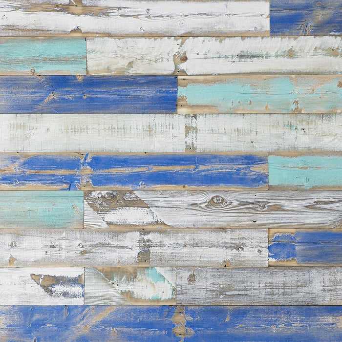 Bijou Creek Blue Reclaimed Wood Plain