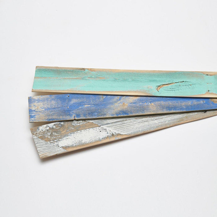 Bijou Creek Blue Reclaimed Wood Planks