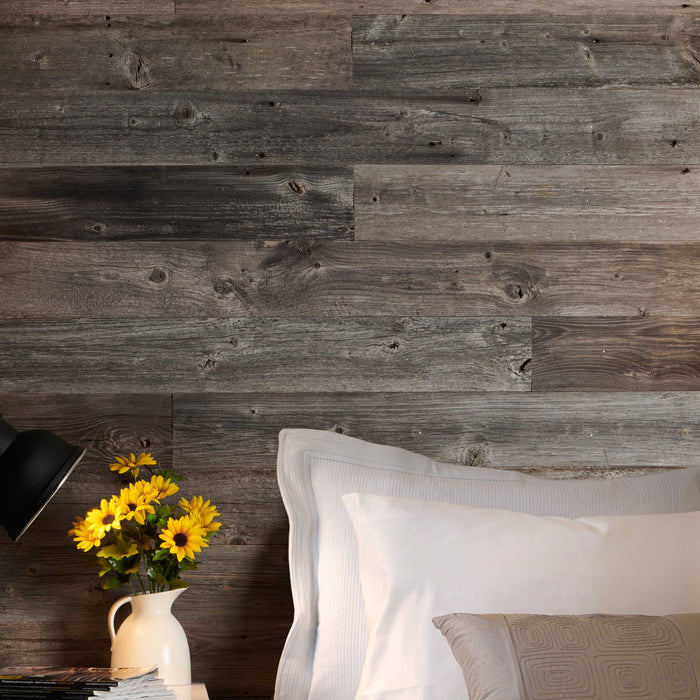 Golzentipp Grey Reclaimed Wood Wall Panels