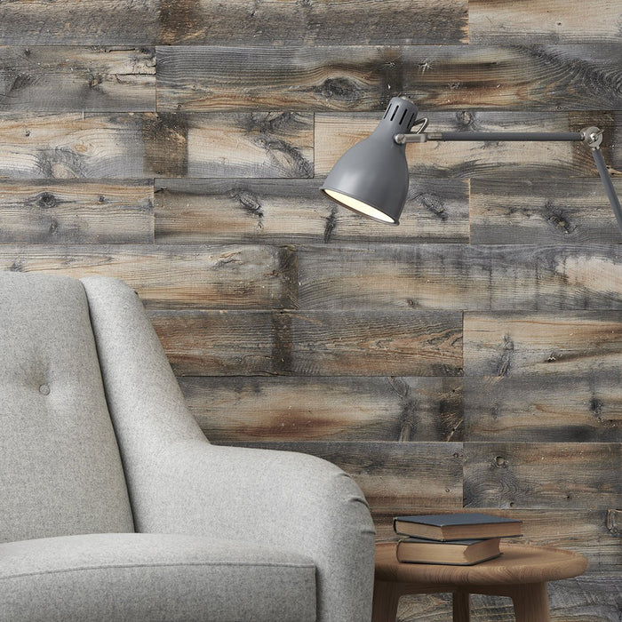 Red Rock Grey Reclaimed Wood Wall Panels