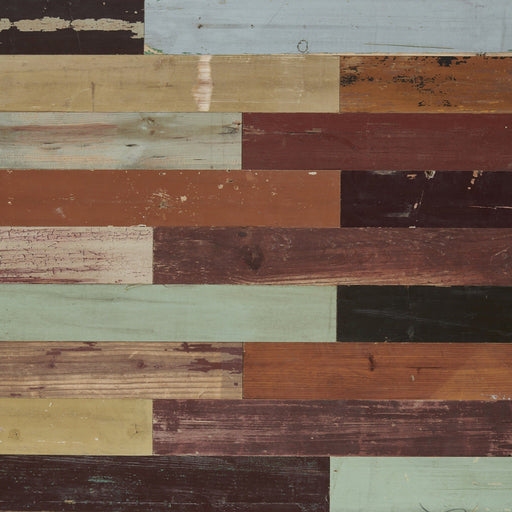 Harlequin wood wall panel