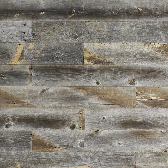 Weathered Wood Wall Panels
