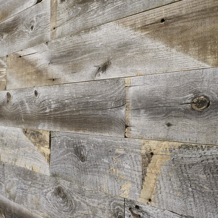 Barn Wood Style Reclaimed Wood Wall