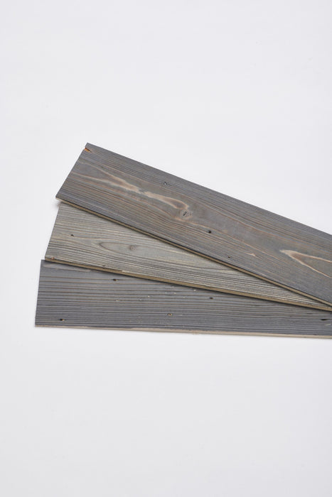 Steel Grey Reclaimed Wood Wall Panels