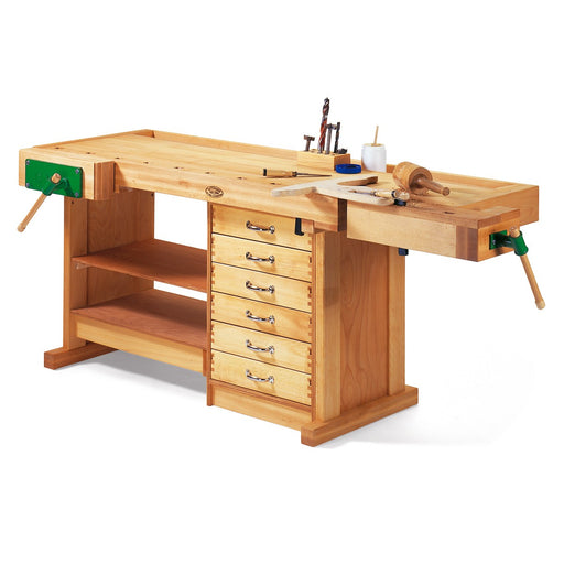 Wittmann Workbench Professional Edition with Solid Wood Drawers