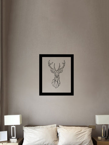 Geometric Deer Head - Winston Square. Home interior and decor store