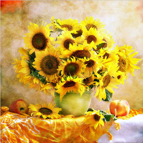 Sunflower Painting - Winston Square. Home interior and decor store