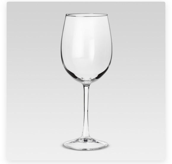 Wine Glass with the Stem
