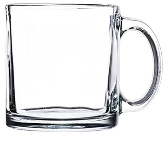 Personalized Clear Coffee Mug