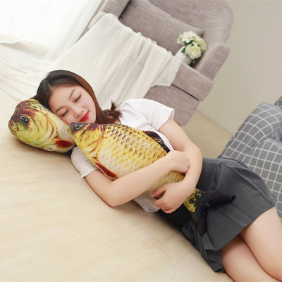 Giant Stuffed Animals Plush toy Fish - Goods Shopi