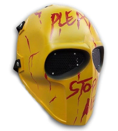 Paintball Airsoft Mask Yellow -A009 - Goods Shopi