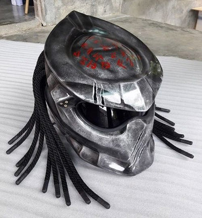Predator Helmet Black Gray - Goods Shopi