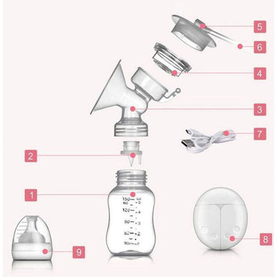 USB Electric Breast Pump - Goods Shopi