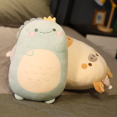 Cute Giant Stuffed Animal  Bear Penguin Dino Pig Plush Toy
