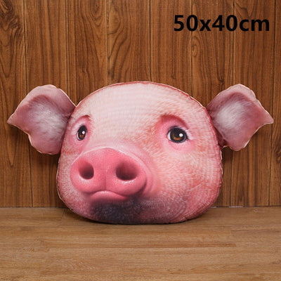 3D Funny Pillow Pig Stuffed Plush Toy