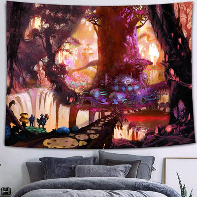 Tapestry Wall Hanging Mysterious Art Room Decor