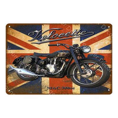 Man cave ideas metal motorcycle wall art - Goods Shopi