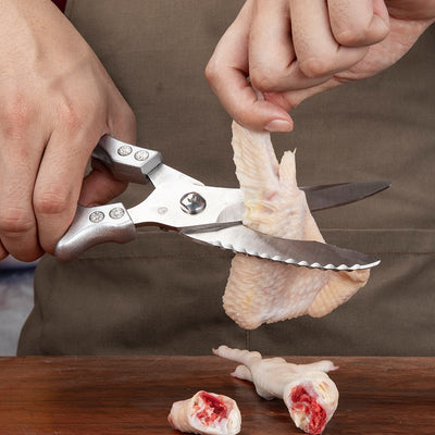 Stainless Steel Scissors Chicken Bone Cutter