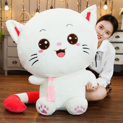 Big Face Cat Giant stuffed animals Squishy  Plush Toy - Goods Shopi