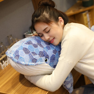 Giant stuffed animals Blue Whale Plush Toy - Goods Shopi