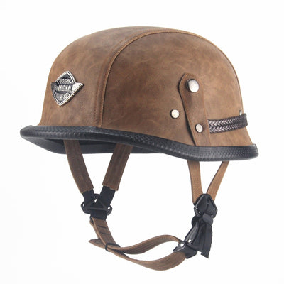 Open Face Half Helmet German WWII Style - Goods Shopi