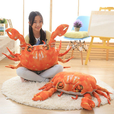 Giant Stuffed Animals Cute Crab Plush Toys pillow