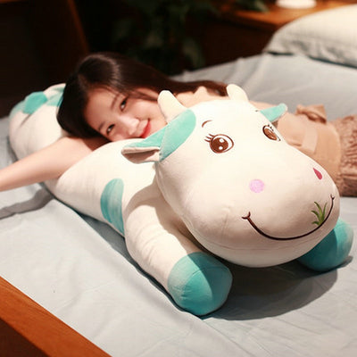 Big Size Stuffed Animal  Cows Plush Toy Pillow