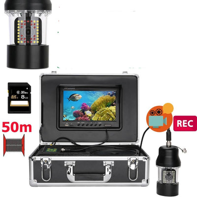 DVR Recorder Underwater Fishing Video Camera  38 LEDs