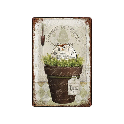 Farmhouse kitchen Garden decorwall art - Goods Shopi