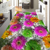 3D Floors  Mural Self-adhesive Flowers Cobblestone Plants - Goods Shopi