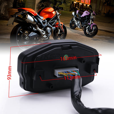 Universal Motorcycle LED Speedometer - Goods Shopi