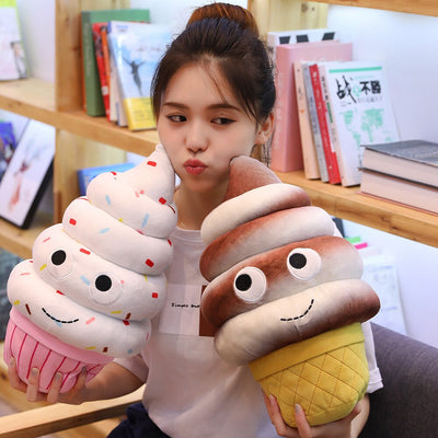 kawaii food plushies Stuffed Pillows Cushion - Goods Shopi