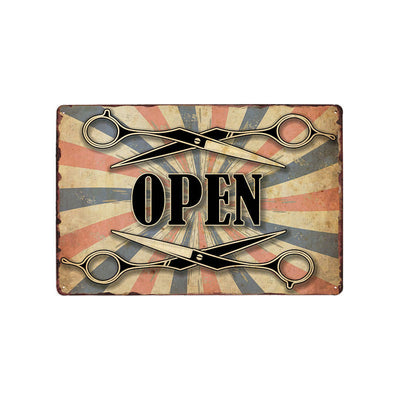Man cave ideas Vintage Barber shop decor Metal Signs - Goods Shopi