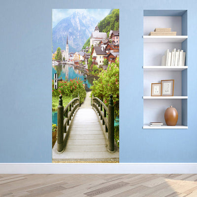 3D Mural Door Sticker European Style -A002 - Goods Shopi