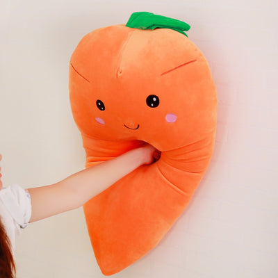 Giant Stuffed Carrot Plant Plush Toy Soft Pillow - Goods Shopi