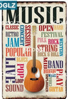 Man cave ideas Music wall decor Metal Sign - Goods Shopi