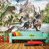 Children Room Dinosaur 3D Mural Wallpaper - Goods Shopi